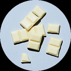 Savoureux chocolat blanc