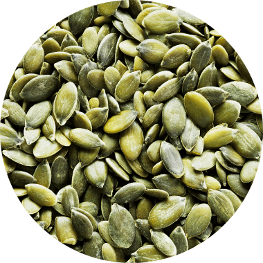 Farine de graines de courge