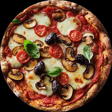 Pizza Protéinée végétarienne