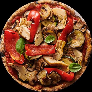 Pizza Protéinée vegan