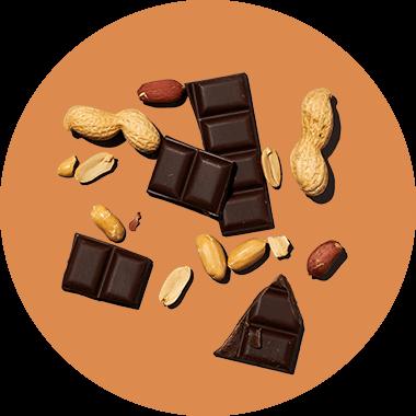 Chocolat - Beurre de cacahuète