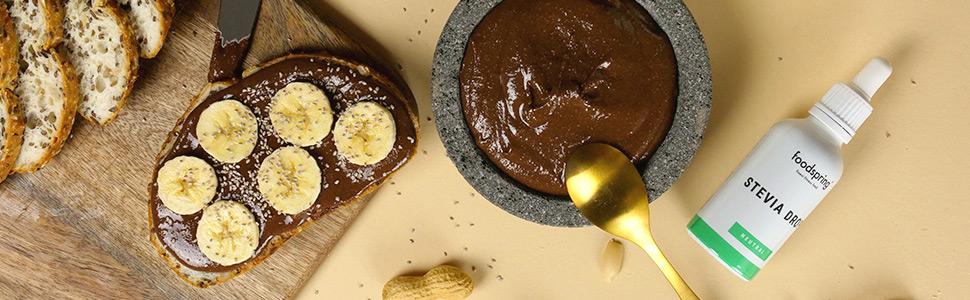 Pâte à tartiner chocolat-cacahuètes pauvre en glucides
