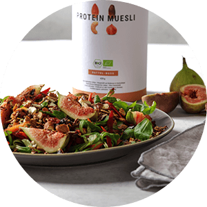 Protein Muesli as a delicious topping