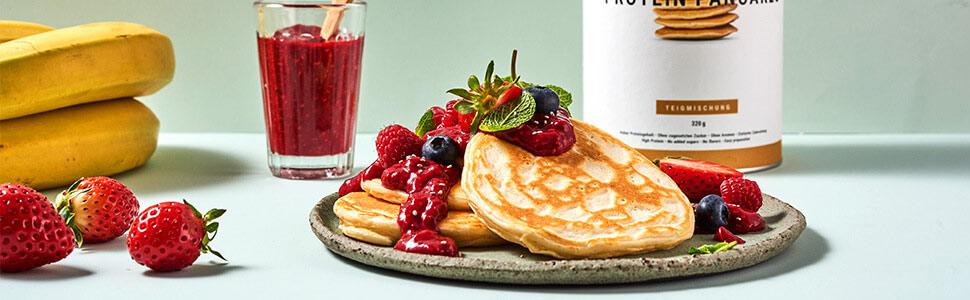 Pancakes à la marmelade de chia
