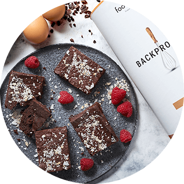 Brownies. Proteïne in plaats van koolhydraten.