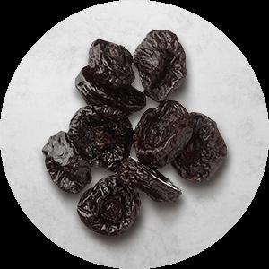 Morceaux de prunes