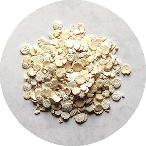 De-oiled fine soy flakes