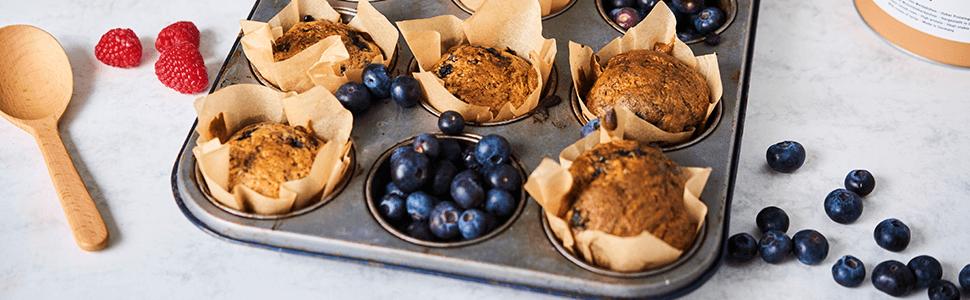 Muffinki białkowe