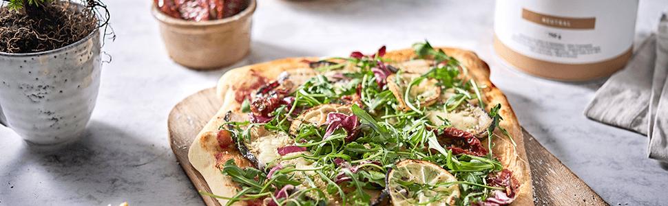 Pizza białkowa