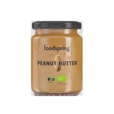 Erdnussbutter: Der leckere Protein-Snack.