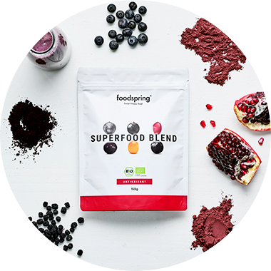 Superfood antiossidanti in polvere