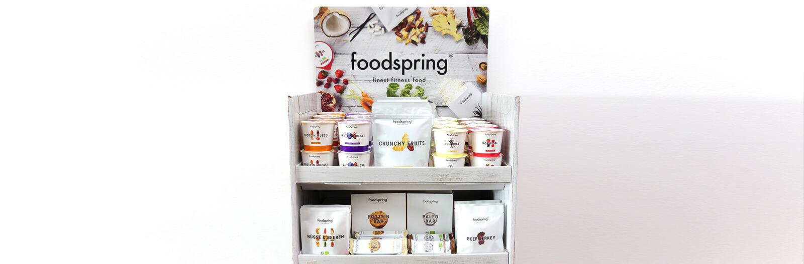 foodspring retail